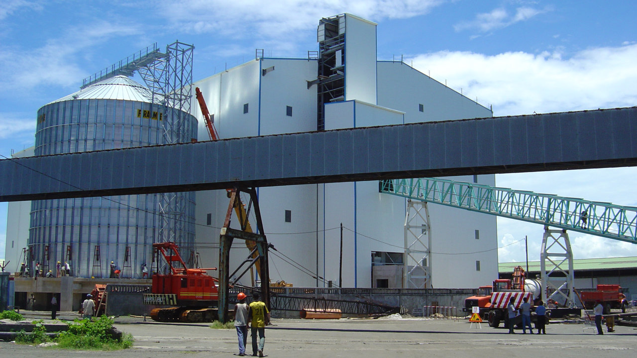 6699 Wheat mill industrial steel building