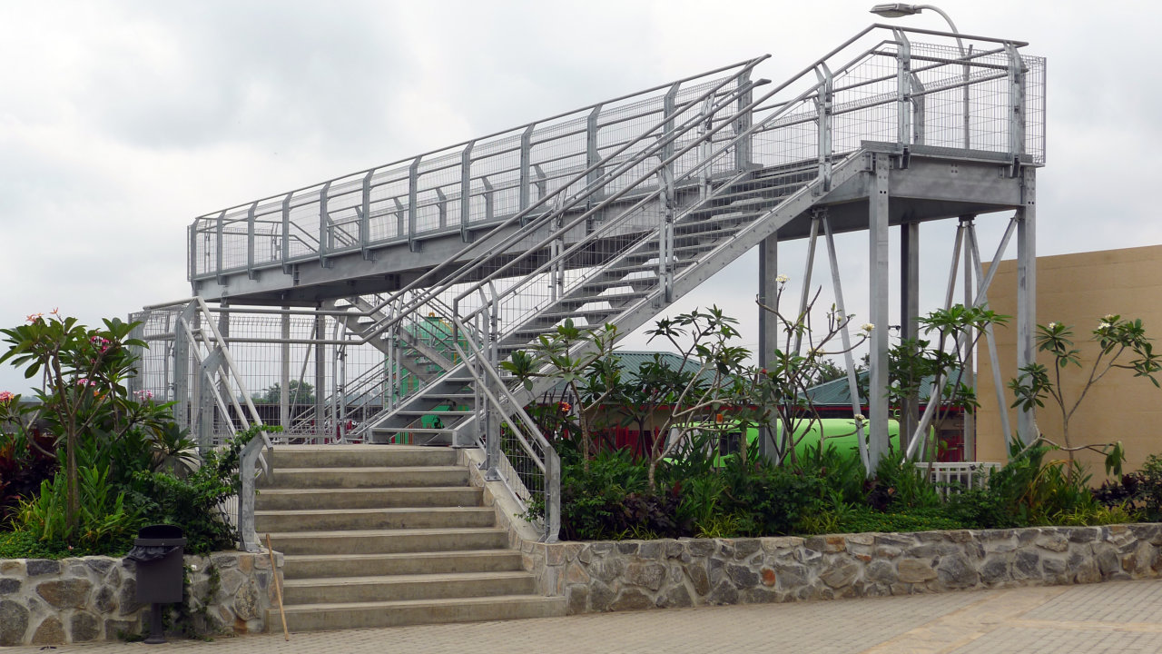 Pedestrian Bridge, Nigeria