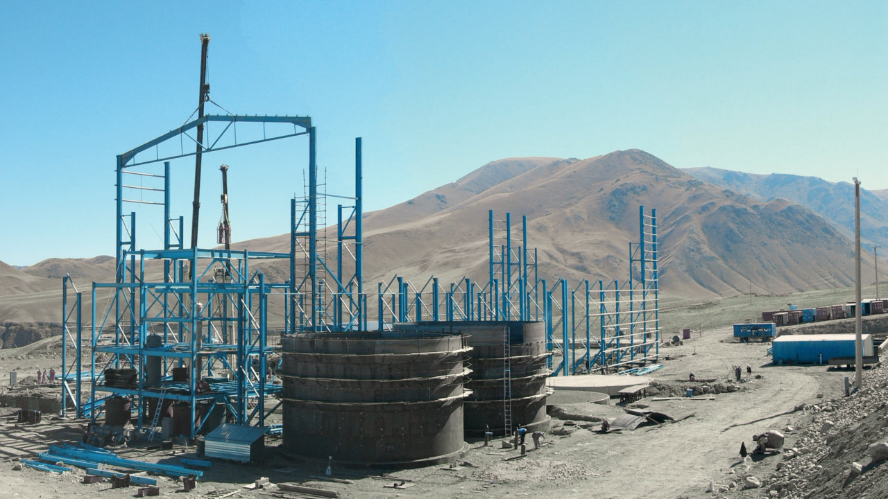 Talas Gold Mining Factory, Kyrgystan
