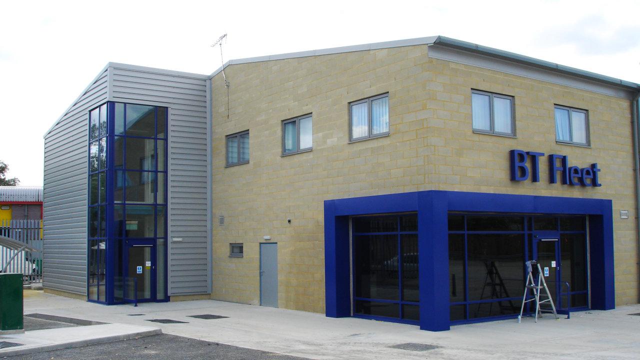 Steel framed commercial buildings and design contractors for Commercial building design