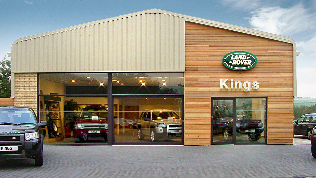 Kings Land Rover Showroom - Newport, Isle of Wight
