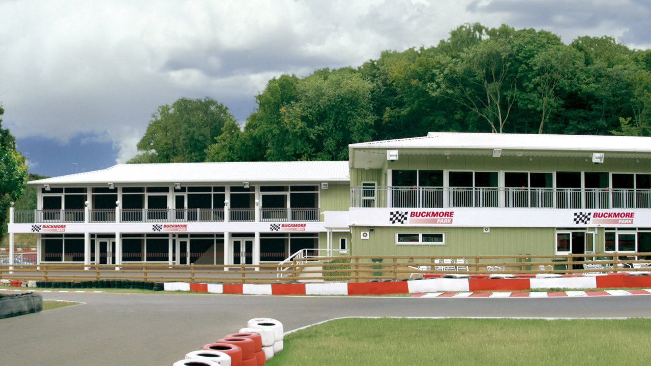 Buckmore Park Racetrack - commercial-steel-building-example02e
