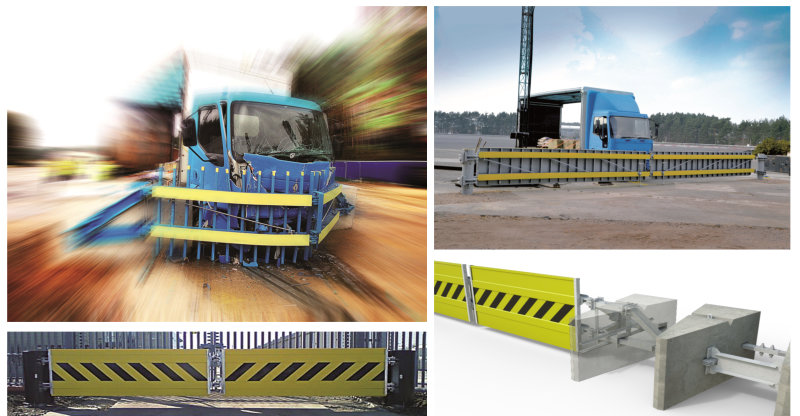 crash resistant barriers and gates