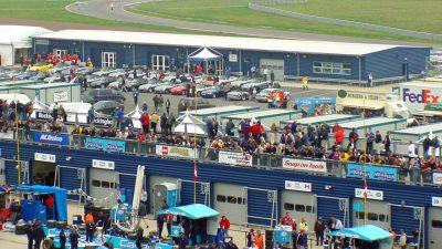 Rockingham Speedway Pits Area