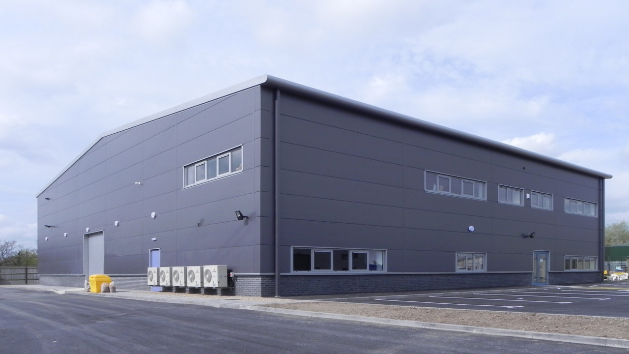 steel warehouse building example