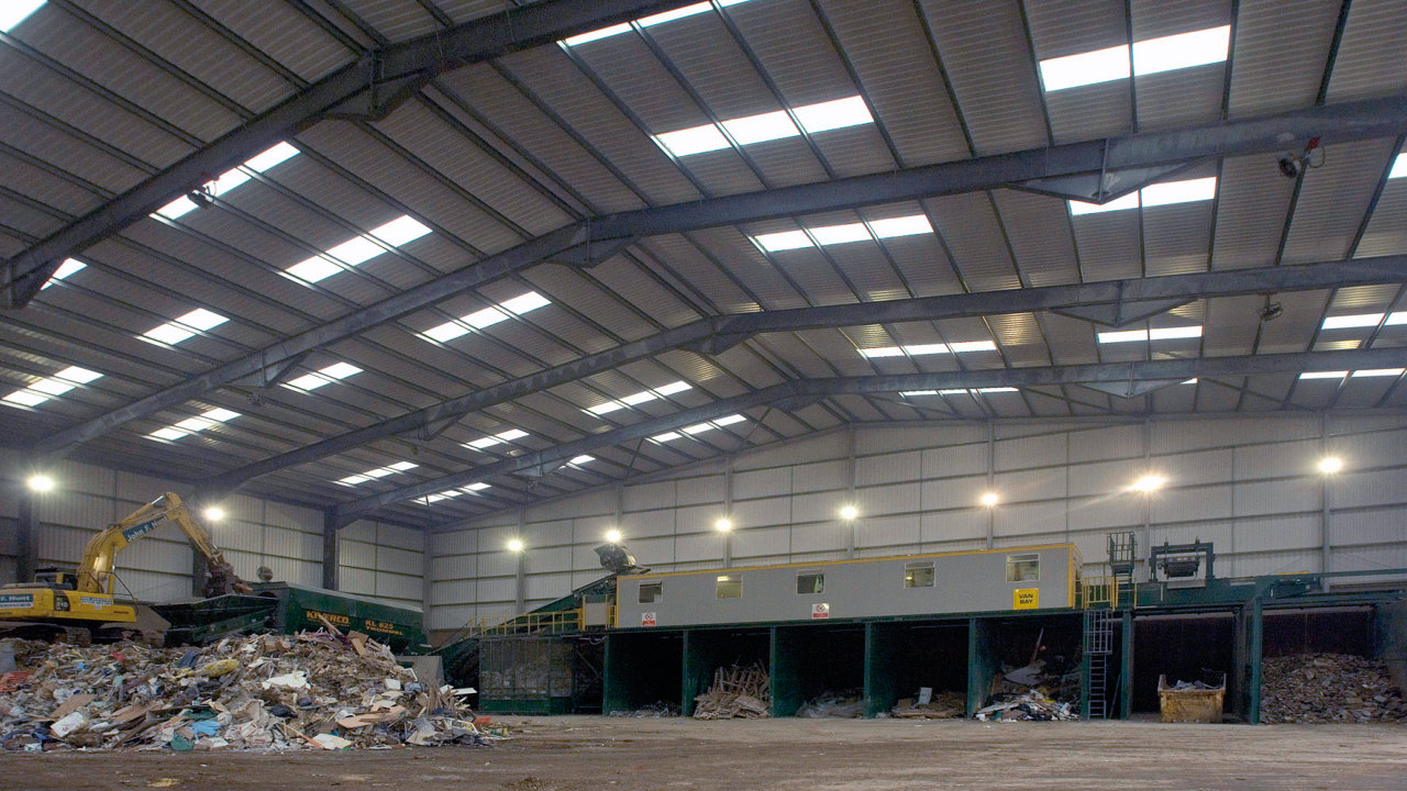 waste management & recycling buildings example