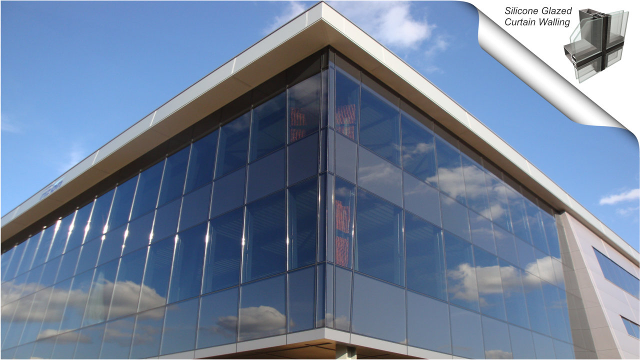 Structural Glazing System : Curtain walling and structural glazing systems reidsteel